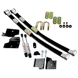 Ridetech 1964-1966 Mustang Composite Leaf Spring And Hq Shock Kit 12094810