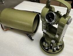 Wild Heerbrugg Theodolite-t2 Serial Number 241399 Fast Shipping By Dhl Express
