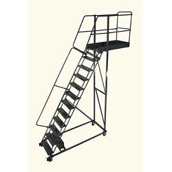 Ballymore Rolling Ladder Capacity 300 Lb Height 160 In. Steel