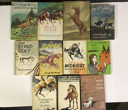 11 Vintage World Famous Horse Story Library Collection- Children Stories 1970s