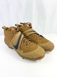Nike Force Zoom Trout 6 Veterans Day Rare Pe Baseball Cleats Menand039s Size 13