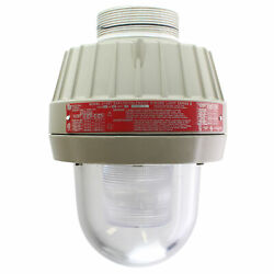 Federal Signal 27xst-024cse Explosion-proof Led Warning Light, 24vdc, Clear Lens