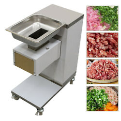 500kg Output 110v Meat Cutting Machine Meat Cutter Slicer With One Set Blade 3mm