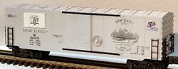 ✅k-line By Lionel New Jersey Commemorative Quarter State Series Box Car Bank