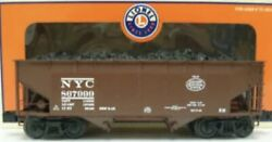 ✅lionel Die Cast New York Central 50 Ton 2 Bay Offset Coal Hopper 6-17021 Nyc