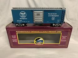 ✅mth Premier Westinghouse 40' Box Car 20-93164 O Scale Freight Train Ps-1