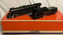 ✅lionel Legacy Reading Rambles T-1 Engine W/ Whistle Steam 6-83200 Locomotive