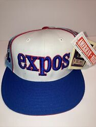 Montreal Expos Mlb American Needle Cooperstown Collection Vintage Hat Size 7 Nwt