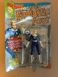 Invisible Woman W/vanishing Color Action Figure Toy Biz Rare - Price Reduced