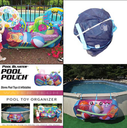 Water Tech Pool Pouch Andndash Versatile Pool Organizer For Floats Balls Inflatable..