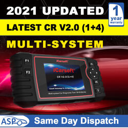 Icarsoft Cr V2.01+4 Multi-system Car Diagnostic Scanner Tools + Extra Features
