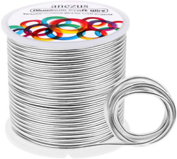 12 Gauge Aluminum Wire 100 Feet Anezus Metal Armature Wire Bendable Sculpting W