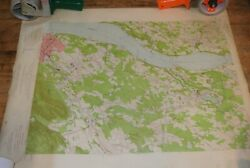 1956 Us Geological Survey Map - New York / Dutchess County / Wappingers Falls