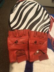 Wwf Wwe Shawn Michaels Hbk Replica Large Wrestling Gloves And Hat Kids Size L