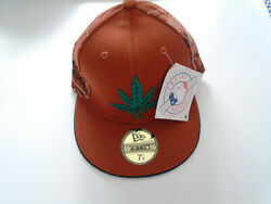 59fifty Fitted Hat Marijuana Hat, Authentic Hat 59fifty Baseball Cap