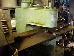 Unipunch 1012 Air-hydraulicandnbsp Press With Punches Carriers Original Documents