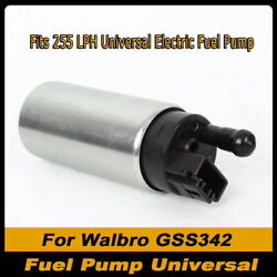 Gss342 255lph Electric Fuel Pump In High Pressure Tank Is Suitable For Racing
