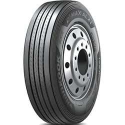 4 New Hankook E3 Max Al21 295/75r22.5 Load G 14 Ply Steer Commercial Tires