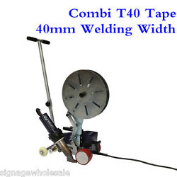 Ac220v Powerful Combi T40 Tape Hot Air Welder With 40mm Welding Width