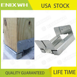 Adjustable Post Base Aba66z Zmax For Deck Brackets,stair Handrails,mailbox Posts