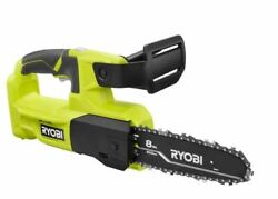 Ryobi P5452 One+ 8 18 Volt 18v Lithium-ion Battery Pruning Chainsaw Tool-only