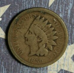 1859 Indian Head Cent Collector Coin Free Shipping