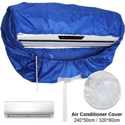 Air Conditioner Washing Cover Cleaning Dust Waterproof Home Protector Cleaner