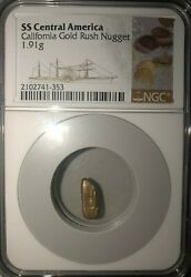 Ss Central America Ssca Shipwreck Huge 1.91 Gram Gold Nugget Second Recovery