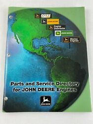 International Parts And Service Directory Of John Deere Engines Book 2000