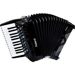 Roland Fr-1x V-accordion Black Piano Keyboard Type From Japan New