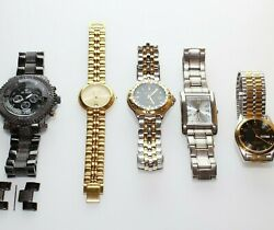 Lot Of Gold And Silver Watches Elgin, Lord Harris, Ice