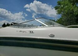 Starboard Side Curved Glass Windshield Only Off 99 Four Winns Horizon 240 Br
