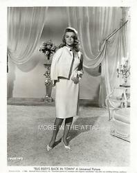 Sexy Busty Ann Margret Orig Bus Riley Universal Pictures Glamour Portrait 1