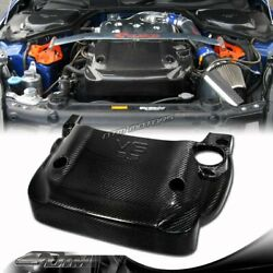 For 2003-2006 Nissan 350z Z33 Light Weight Real Carbon Fiber Engine Cover New