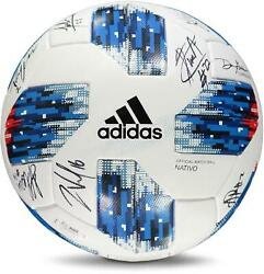 Portland Timbers Signed Mu Soccer Ball From The 2018 Mls Season And 14 Signatures
