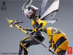 New Bee-03w Wasp Girl Bun-chan 1/12 Completed Action Figure Psl Ltd Japan