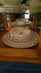Vintage Syracuse Red Orientalchina.12 -7 P Place Settings And Extras. 1927-1947