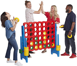 Jumbo 4-to-score Giant Play Center Kids Backyard Game Set For Kids For Outdoor