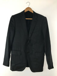 Louis Vuitton Jacket Gray Size 50 Tailored Wool 2 Buttons 2b Auth Used 5498a