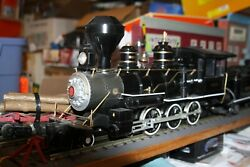 Bachmann G Scale Steam Locomotive And Tender 2005 Reading 4-6-0 Used No Box