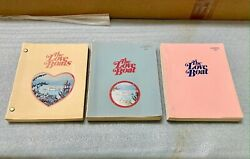 Vintage The Love Boat Movie Scripts From The Creators Personal Collection