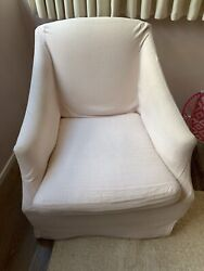 Classic Slope Arm Chair W/ Ottoman From Restoration Hardware Baby And Child