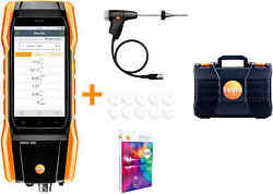 Testo 300 - Commercial Combustion Analyzer With Long Life Sensors 0564 3004 92