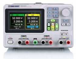 Siglent Spd3303x - Programmable Linear Dc Power Supply With 1 Mv/1 Ma Resolution
