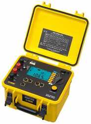 Aemc 6240 - 10a Micro-ohmmeter With Kelvin Clips And Probes Catalog 2129.80