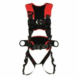 3m Protecta 1161202 Full Body Harness, Vest Style, Xl, Polyester, Black