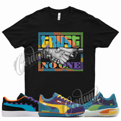 Black Trust V2 T Shirt For X Rugrats Court Rider Future Suede Basketball