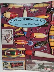Classic Fishing Lures And Angling Collectibles Book Softcover By D.b. Homel