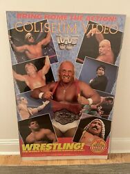 1986 Wwf Official Video Poster- Hulk Hogan Jake The Snake And More Rare