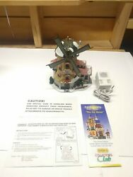 Vintage Lemax Carole Towne Collection 2000 - Tollyandrsquos Windmill - Fast Ship Read